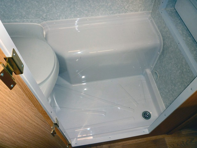 O Learys Wheel Arch Shower Tray