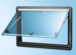 Seitz S4 Hinged Window Replacement Glass 1450 x 600