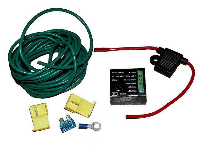 split charge relay kit. Black Bedroom Furniture Sets. Home Design Ideas