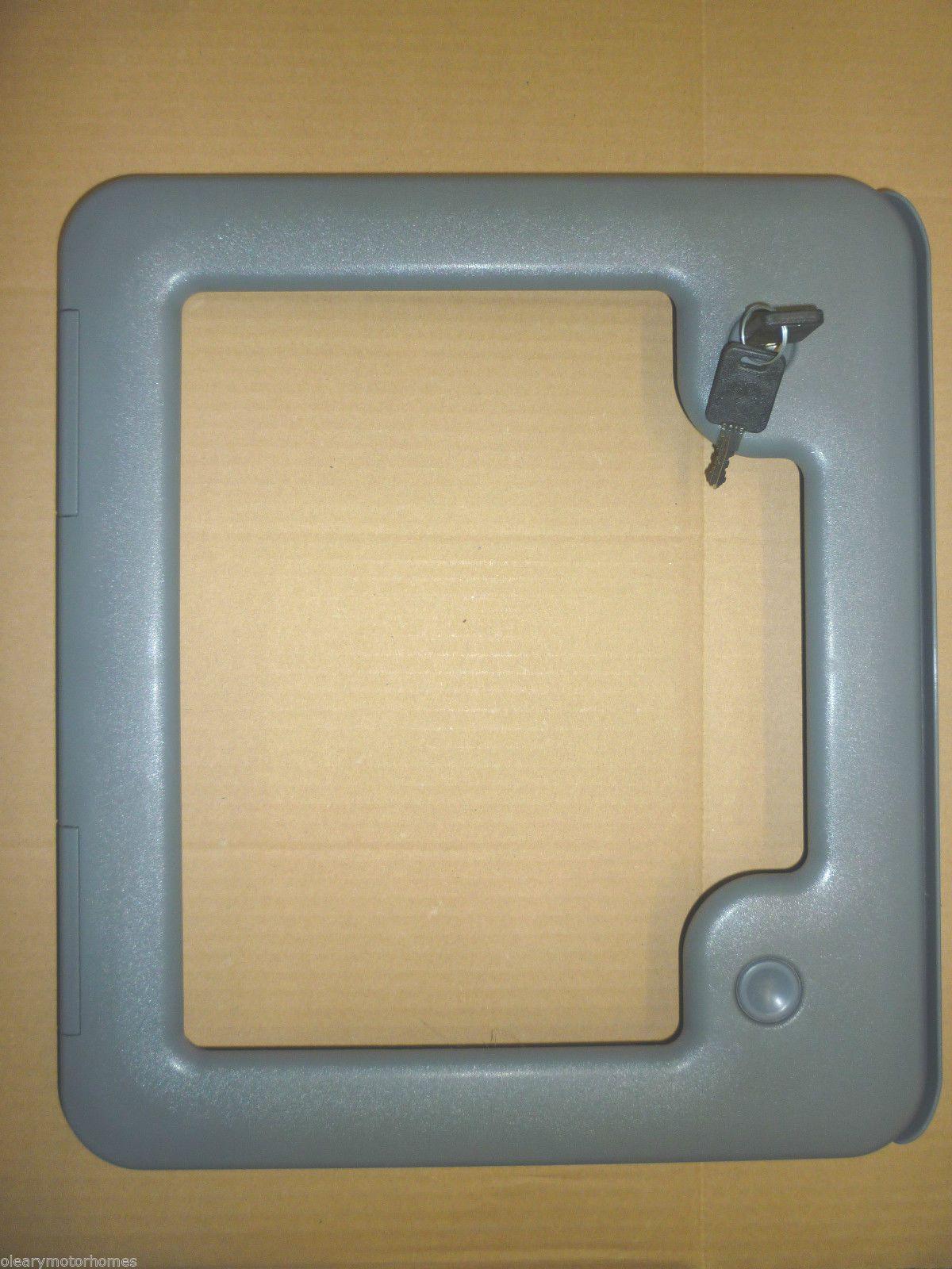 Thetford Cassette Access Toilet Door Grey C200 C400 Door 3