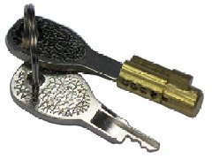 Trailer Hitch Lock Barrel And Keys
