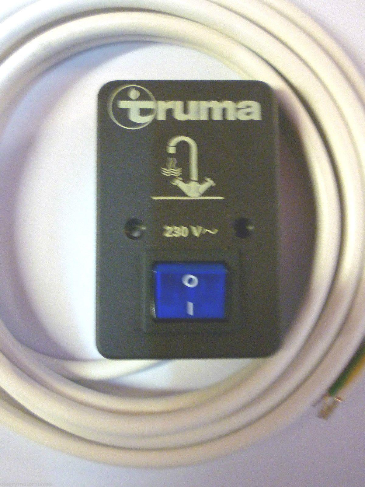 Verrassend Truma boiler Control Switch motorhome caravan trumatic c PI-78